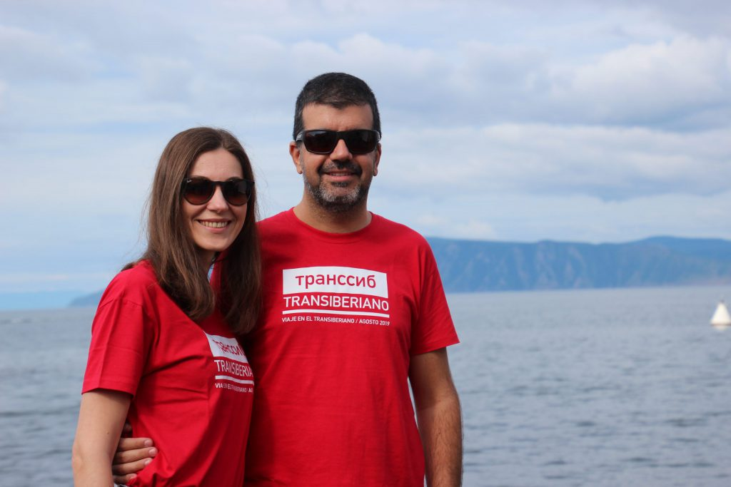 Equipo Viajes A Rusia en el lago Baikal